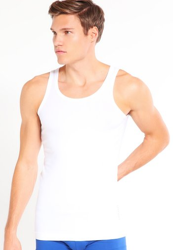SLIM FIT - Undershirt - white