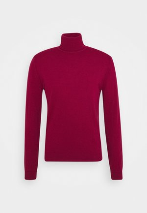 BASIC ROLL NECK - Jumper - cherry