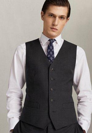 QUALITÄT SUPER - Suit waistcoat - dark grey