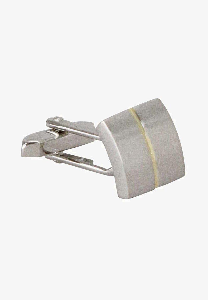 Seidensticker - TENKNÖPFE QUADRAT  - Cufflinks - silber