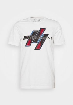 BMW LIFE GRAPHIC TEE - Print T-shirt - white