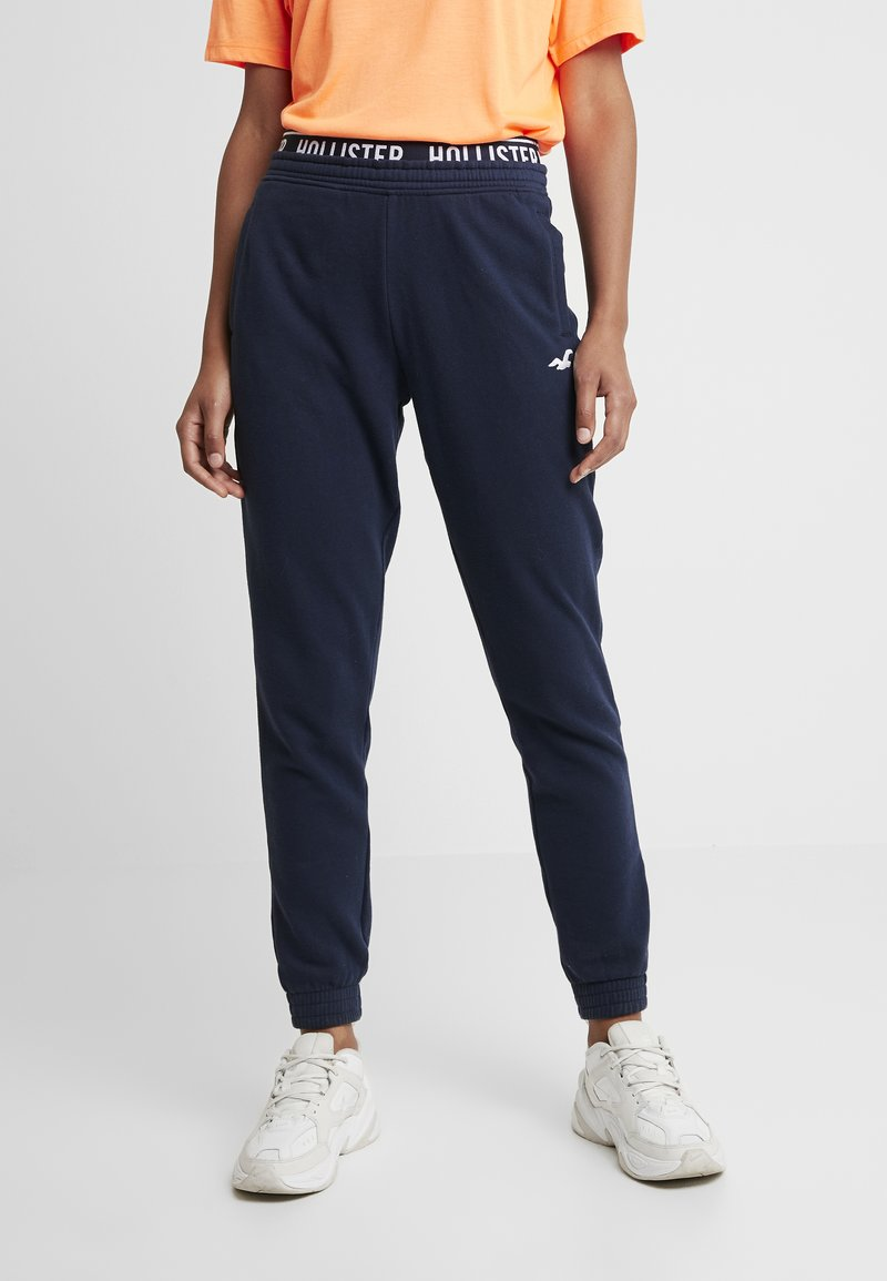 Hollister Co. - JOGGER - Tracksuit bottoms - navy