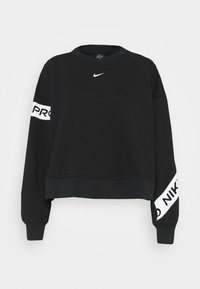 Nike Performance - GET FIT - Sudadera - black/white - 3