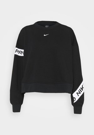 GET FIT - Sweatshirt - black/white