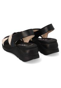 Hispanitas - Sandalen met sleehak - black - 1