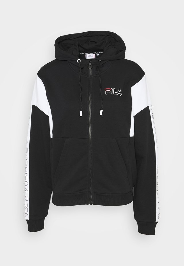 LAIN - Zip-up hoodie - black