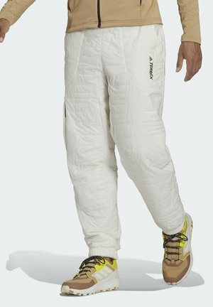 TERREX UNISEX PRIMALOFT - Bukse - white