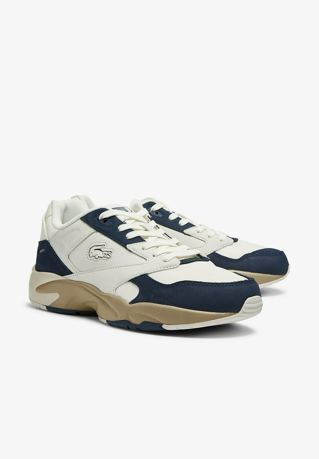 Sneakers laag - off wht/nvy