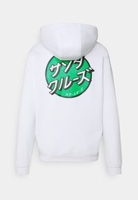Santa Cruz - OTHER JAPANESE DOT HOODIE UNISEX - Sweatshirt - white - 7