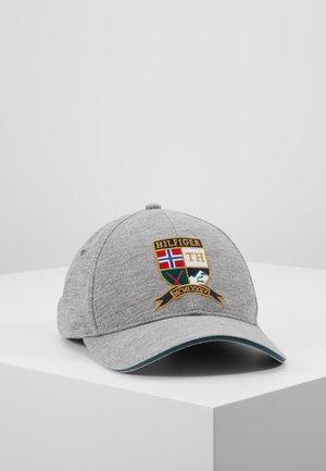 CREST CAP - Kšiltovka - grey