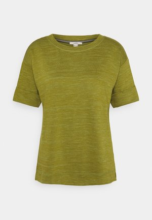 BOXY TEE - T-shirts - olive