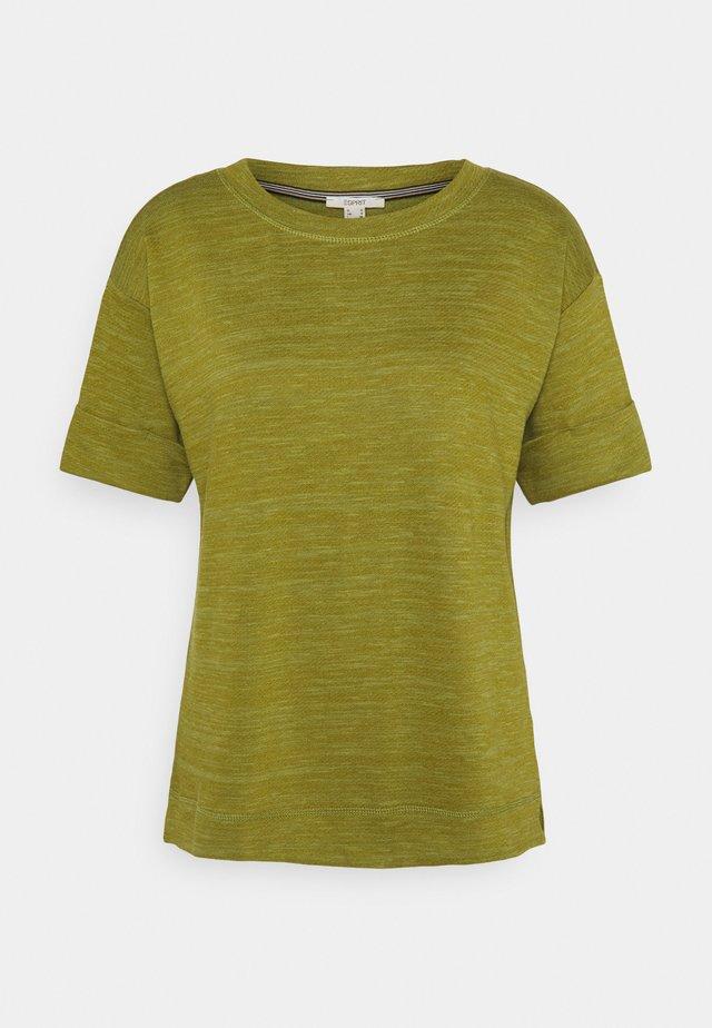 BOXY TEE - T-Shirt basic - olive