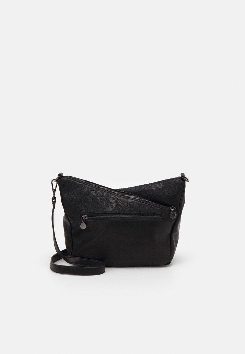 Desigual - BOLS MARTINI HARRY MINI - Across body bag - black