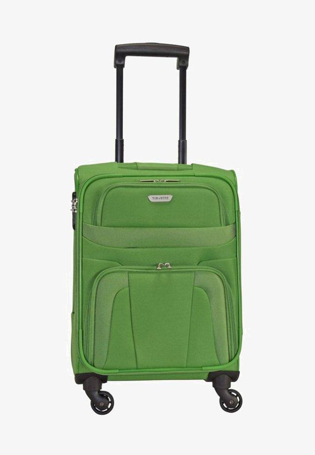 ORLANDO - Wheeled suitcase - green