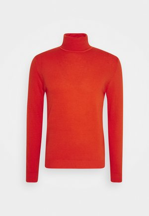 BASIC ROLL NECK - Strikpullover /Striktrøjer - orange