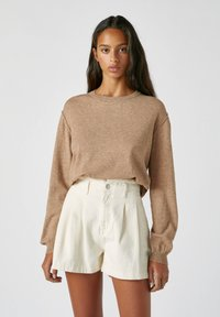 PULL&BEAR - Jumper - mottled brown - 0