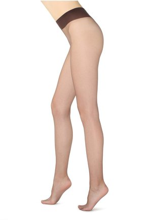 ULTRA TRANSPARENTE FEINSTRUMPFHOSE 8 DENIER - Tights - brown