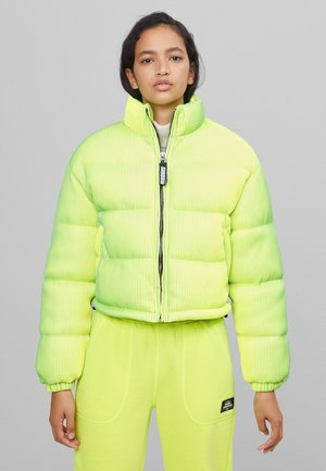 LENTICULAR - Winter jacket - yellow