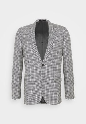 GENTS TAILORED FIT JACKET - Suit jacket - beige/black