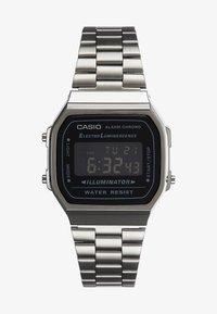 Digitální hodinky - gunmetal