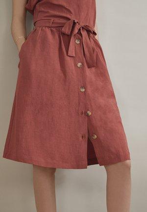 Áčková sukně - teja