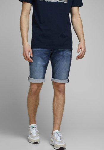 REX - Denim shorts - blue denim