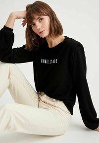 DeFacto - Sweatshirt - black - 4