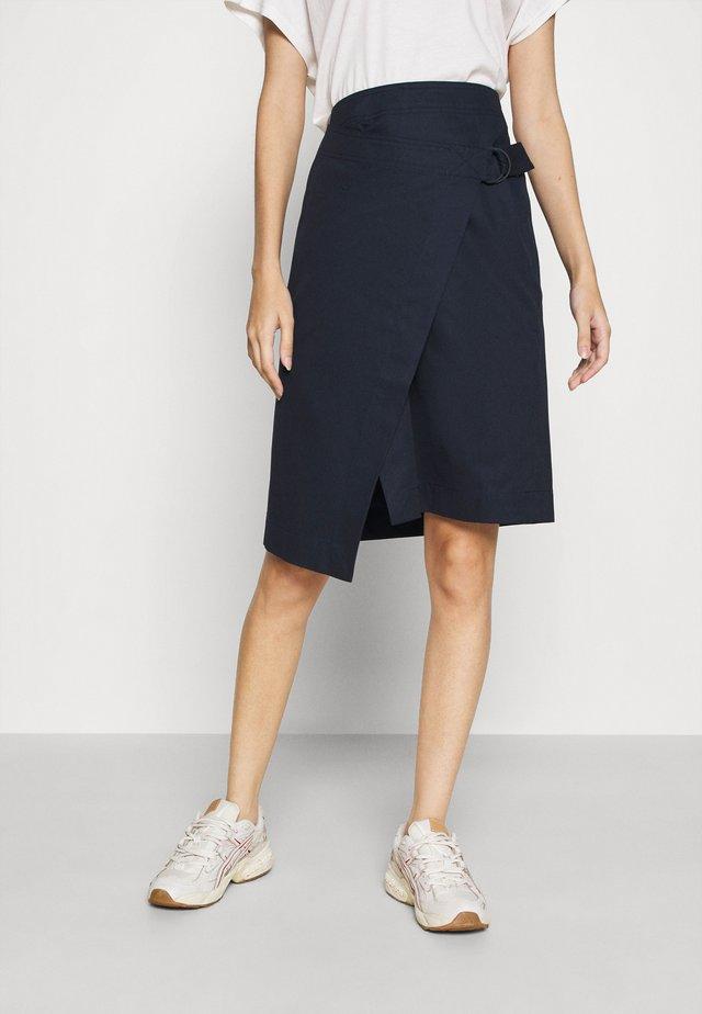 JUPE FEMME - Zavinovací sukně - marine