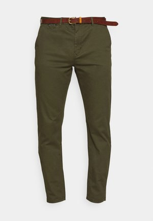 NEW BELTED  - Pantalones chinos - military