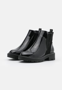 River Island Wide Fit - WIDE FIT QUEENIE CHUNKY CHELSEA BOOT - Classic ankle boots - black - 2