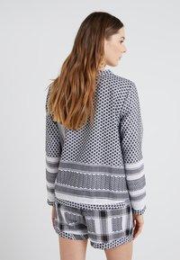 CECILIE copenhagen - Bluser - black/white - 2