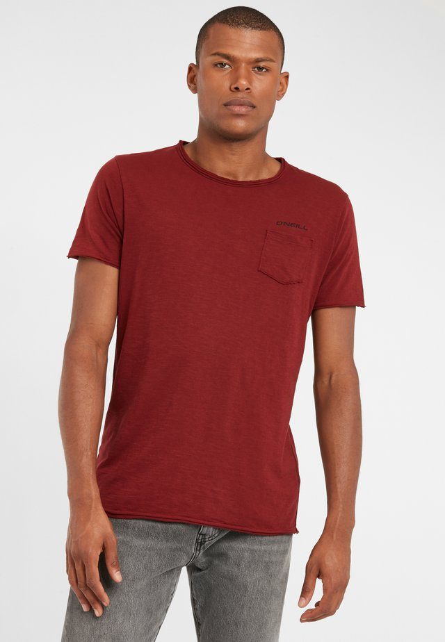 Basic T-shirt - haute red