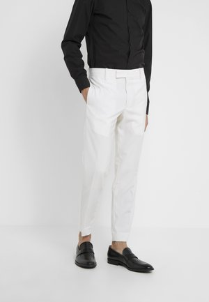 GENT FORMAL TROUSER - Pantalón de traje - white