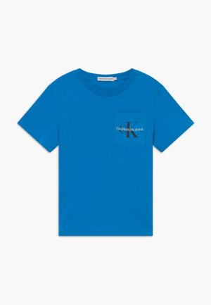 MONOGRAM POCKET  - Print T-shirt - blue