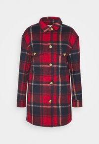 HERITAGE BRUSHED - Classic coat - red