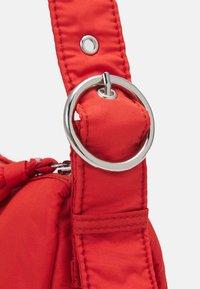 Topshop - SAFF SHOULDER UPDATE - Across body bag - rust - 3