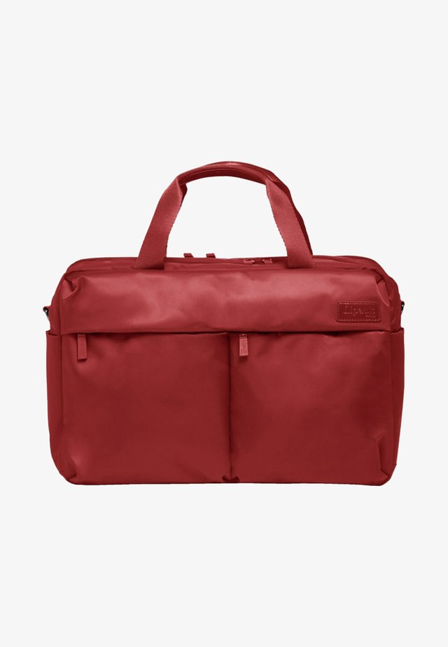 CITY PLUME - Laptop bag - cherry red
