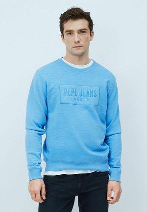 HUGH - Sweatshirt - bright blue