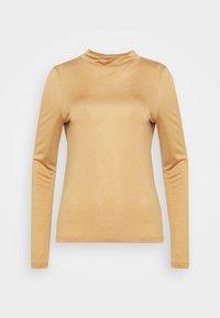 ALLEGRA - Long sleeved top - camel