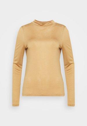 ALLEGRA - Maglietta a manica lunga - camel