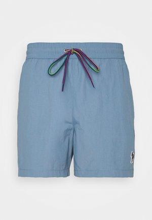 MEN ZEBRA - Shorts da mare - light blue