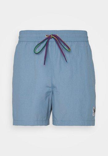 MEN ZEBRA - Swimming shorts - light blue