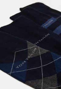 TOM TAILOR - SOCKS GRAPHICS 4 PACK - Ponožky - dark navy - 1