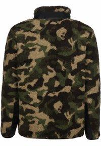 Urban Classics - Fleece jacket - wood camo - 1