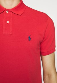 Polo Ralph Lauren - SLIM FIT MESH POLO SHIRT - Polo - evening post red - 7