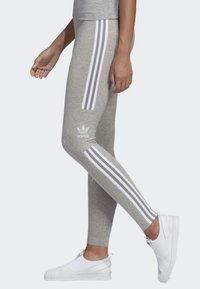 adidas Originals - ADICOLOR TREFOIL TIGHTS - Leggings - grey - 3