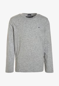 Tommy Hilfiger - BOYS BASIC  - Long sleeved top - grey heather - 0