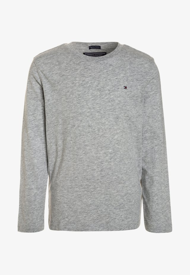 BOYS BASIC  - Long sleeved top - grey heather