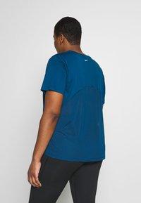 Nike Performance - DRY MILER PLUS - Basic T-shirt - valerian blue - 2
