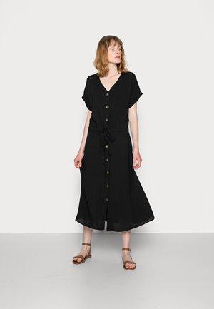 RADIA - Jersey dress - black